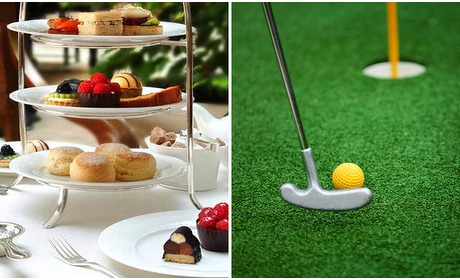 Social Deal: High Tea + evt. midgetgolf in hartje Ede