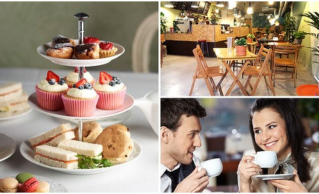 Social Deal: High tea met onbeperkt thee
