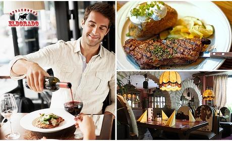 Social Deal: 3-gangen keuzediner bij Steakhouse Eldorado