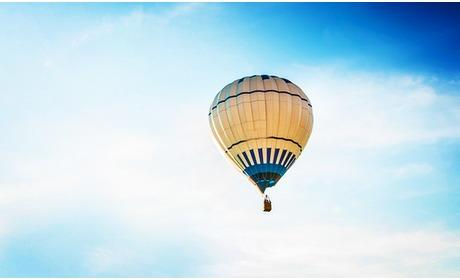Social Deal: Luchtballonvaart + champagne (1 uur)