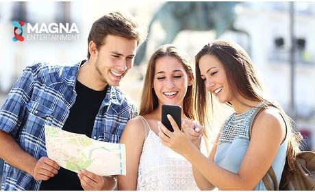 Social Deal: Interactieve (escape) app-game in stad naar keuze