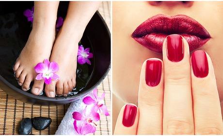 Social Deal: Manicure- of pedicurebehandeling