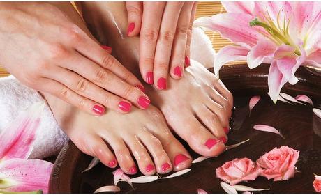 Social Deal: Gellak + mini-manicure en/of -pedicurebehandeling