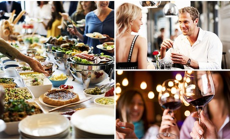 Social Deal: All-You-Can-Eat & Drink (2 uur)