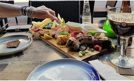 Groupon: 2-gangen foodsharing-diner (2 p.)