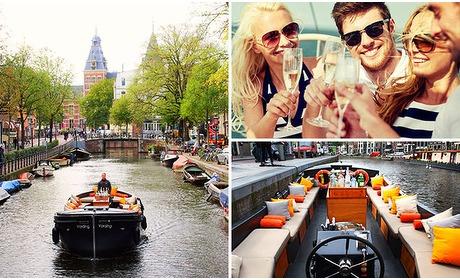 Social Deal: Rondvaart (60 min) door de grachten van Amsterdam