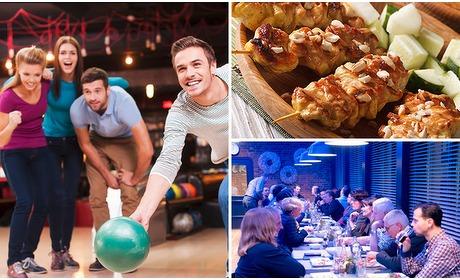 Social Deal: Bowlen + 2-gangendiner bij Bowling Valkenswaard