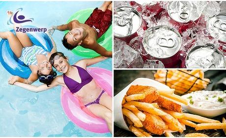 Social Deal: Entree + snackmenu bij Zwembad Zegenwerp