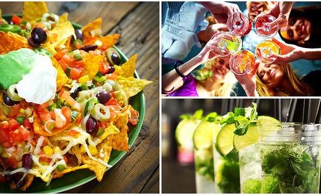 Social Deal: Cocktail + nacho's voor 2 in hartje Maastricht