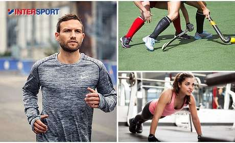 Social Deal: Waardebon voor Intersport