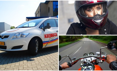 Social Deal: Auto- of motorrijlessen + examen
