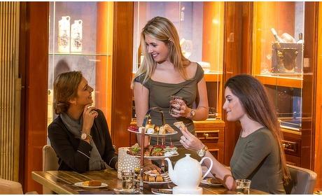 Groupon: De Koperen Hoogte: High Tea (2 p.)
