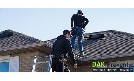 Wowdeal: Dakinspectie, reparatie met dakgoot/dakkapelreiniging of schoorsteenvegen door Dakpreventie