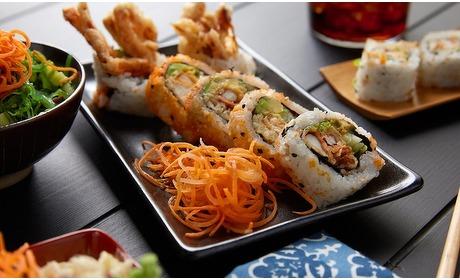 Groupon: Onbeperkt sushi/grill (2 p.)