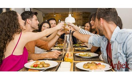 Wowdeal: 3-gangendiner van de chef bij Restaurant Antiek