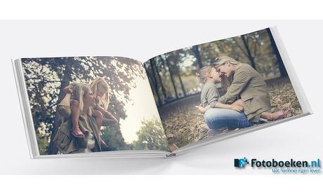 Wowdeal: Fotoboek met 110/120 pagina's en foto omslag