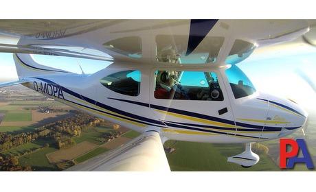 Wowdeal: 30 minuten vliegen in een sportvliegtuig