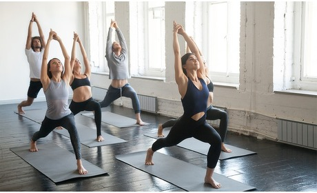 Groupon: 5, 10 of 15 keer yoga
