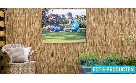 Wowdeal: Prachtige tuinposter van Fotoproducten.nl