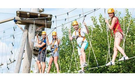 Wowdeal: Toegang SnowWorld Klimpark inclusief 5-rittenkaart Alpine Coaster