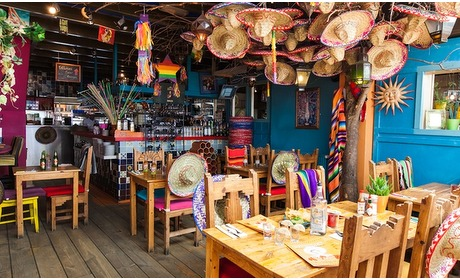 Groupon: Onbeperkt Mexicaanse tapas (2 p.)