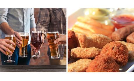 Wowdeal: Speciaalbiertjes en gemengde snacks cafe Brouwersplaats
