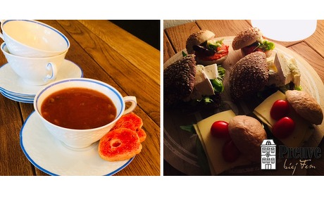 Wowdeal: High-tea bij Preuve biej Fem