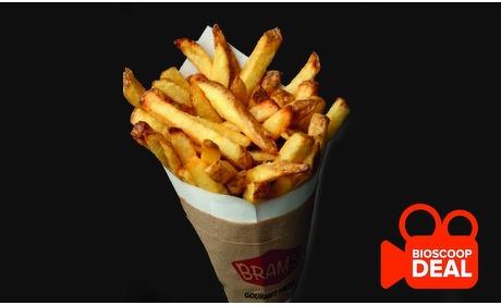 Groupon: Schiedam: bioscoopticket + friet