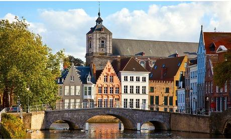 Groupon: Brugge: 1 tot 3 nachten met ontbijt en wellness