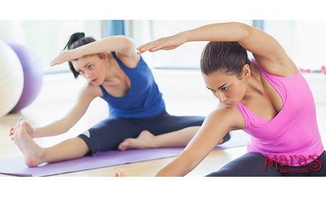 Wowdeal: 11 pilates- of buikdanslessen bij Mara's Dansstudio