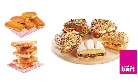Wowdeal: Belegd broodje, smoothie en snack bij Bakker Bart Valkenswaard