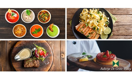 Wowdeal: 3 gangen keuze menu