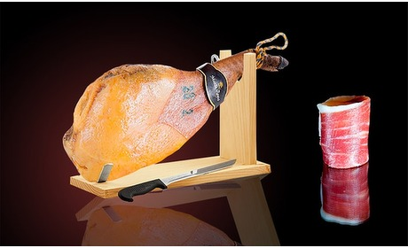 Groupon: Serrano- of Iberische ham 4 kg