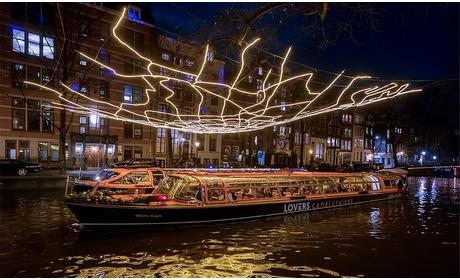 Groupon: Rondvaart A'dam Light Festival