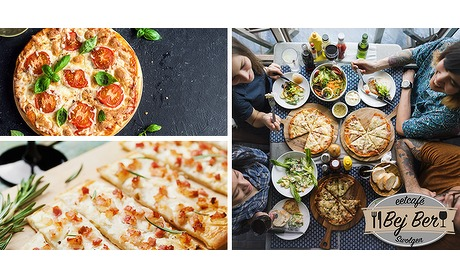 Wowdeal: Pizza of flammkuchen bij Bej Ber