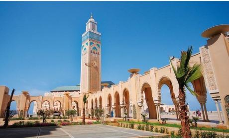 Groupon: Marrakech: 3/4 nachten met ontbijt, transfer & vlucht vanaf EIN
