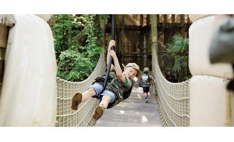 Wowdeal: Entree Jungle Dome Centerparcs het Heijderbos