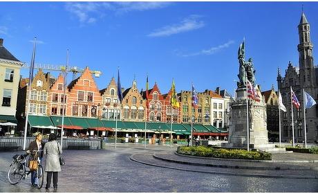 Groupon: Hartje Brugge: 2-persoonskamer met wellness in 4* hotel