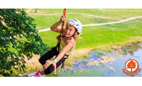 Wowdeal: Entreeticket voor Klimpark Fun Forest Venlo