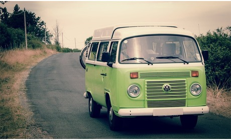 Groupon: Huur een Volkswagen-camper voor max. 4 pers.