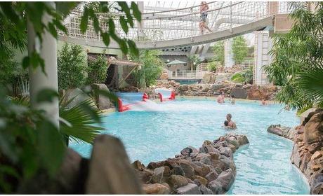 Groupon: Kempen: kamer voor 2 met ontbijt en toegang subtropisch zwemparadijs