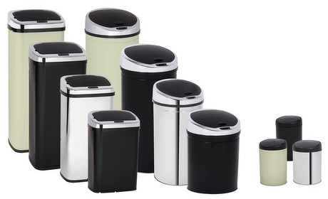 Groupon: Davis&Grant-vuilnisbak met sensor