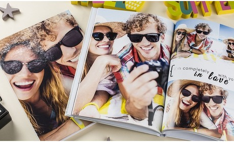 Groupon: A4-fotoboek harde kaft 100 pags