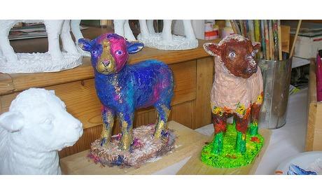 Wowdeal: Workshop schaapje schilderen bij Kunst- en Verzamelhuis