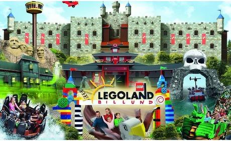 Groupon: Familieticket LEGOLAND Billund