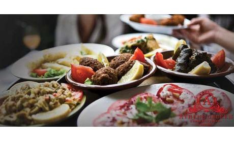 Wowdeal: Grieks 3-gangen keuzemenu bij Restaurant Athene