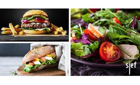 Wowdeal: Lunchgerecht naar keuze bij Restaurant Sjef