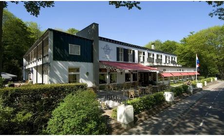 Groupon: Wageningen: deluxe kamer met ontbijt in 4* hotel tussen de bossen