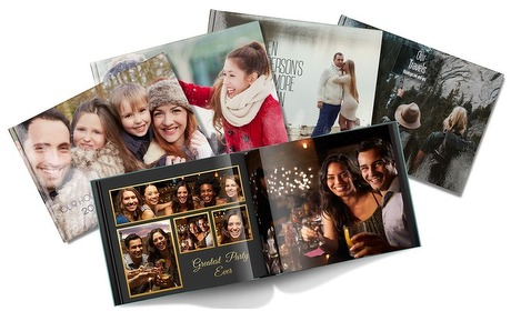 Groupon: A5 of A4-fotoboek met fotokaft