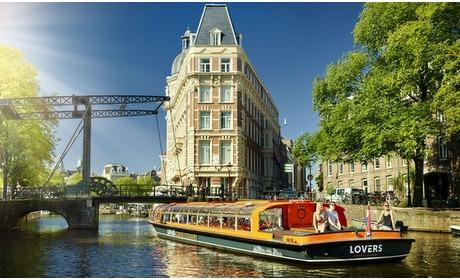 Groupon: Rondvaart Amsterdamse grachten